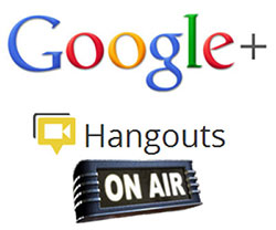 Tech Hangout via Google+ Hangouts