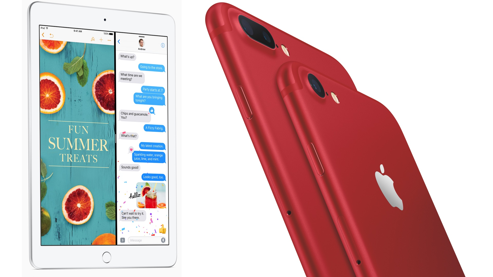 Apple Introduces Red iPhone, New iPad, and Clip Video App ...